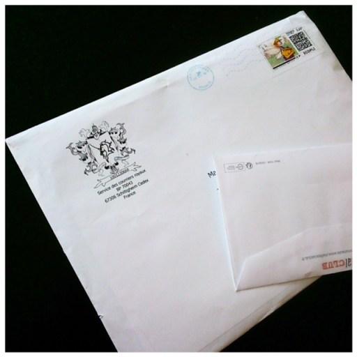 recevoir du courrier reve aux lettres