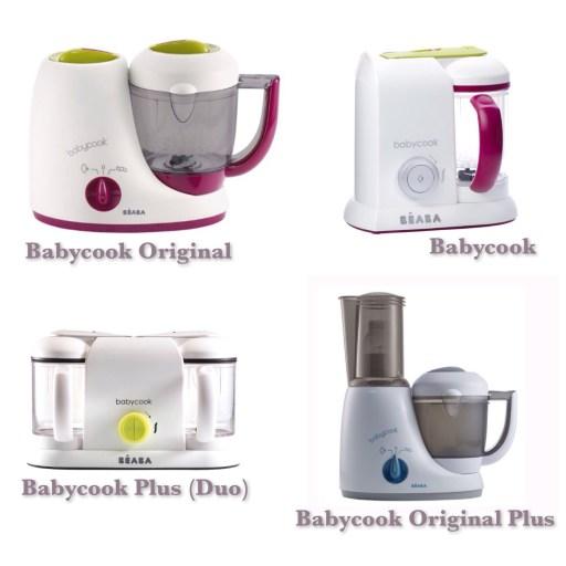 La gamme de Babycook de Beaba
