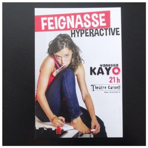 Vanessa Kayo feignasse hyperactive