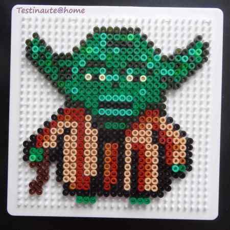 Yoda star wars perles Hama