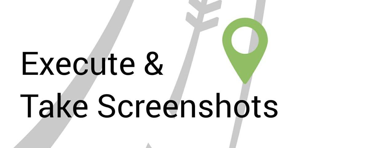 Execute Script and Take Screenshots