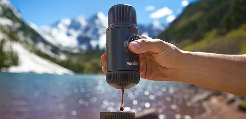 Wacaco Nanopresso espresso portátil, evolución de La Minipresso