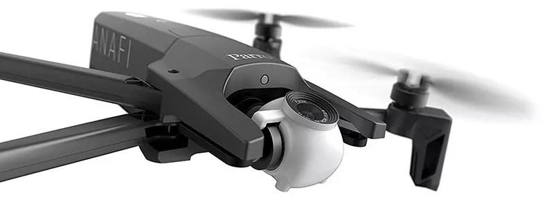 Parrot ANAFI - Drone Quadcopter plegable con cámara 4K HDR