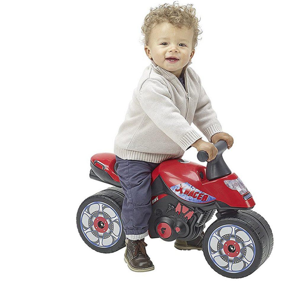Falk - 400 - Bicicleta y vehículo para niños - Moto Xrider - Rojo