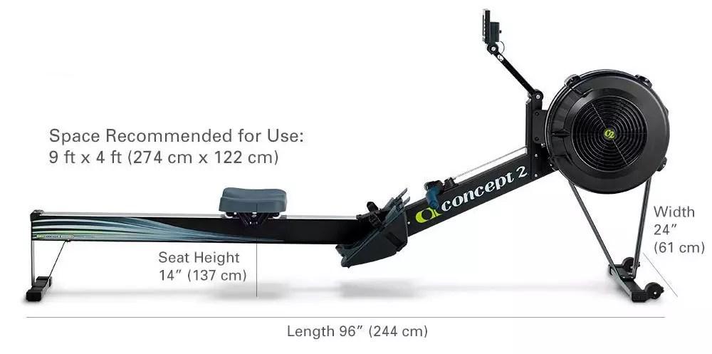 Concept2 Modelo D Rower con pantalla PM5
