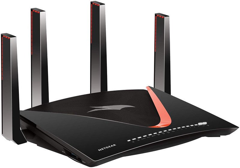NETGEAR XR700-100EUS Routeur Wifi Nighthawk AD7200 Dual Band Pro Gaming Powered by Netduma DumaOS