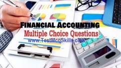 Financial Accounting, MCQs
