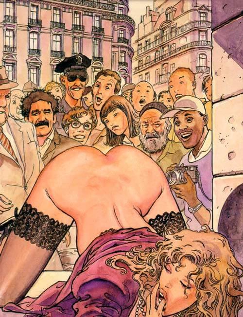 Quadrinhos eróticos