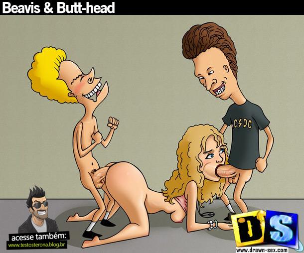 Beavis & Butt-head desenho sexo