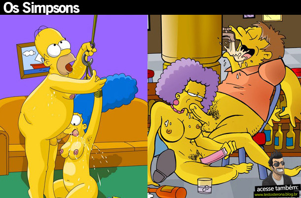 Os Simpsons desenho sexo