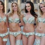 Mulheres adoram lingerie e dinheiro