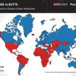 Brasileiros procuram mais por bundas do que peitos na internet