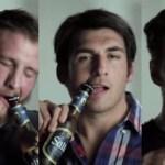 Jogadores de rugby ganham implante dentário que abre garrafas