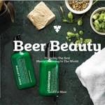 Marca de cerveja lança linha de cosméticos para homens