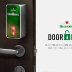 Uma fechadura inteligente que só abre a porta para quem trouxer cerveja