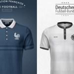 E se as camisas de futebol das seleções fossem produzidas por grifes famosas?