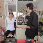 Gabriela Rippi ensina a fazer strogonoff e, desta vez, você aprende mesmo