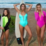 Um vídeo com 3 surfistas gatas pra animar o seu dia