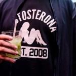 Testosterona completa 8 anos e comemora com festa; veja as fotos