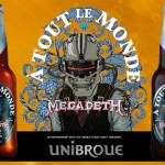 A Tout Le Monde, a nova cerveja do Megadeth