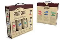 Kit Cachaça Santo Grau