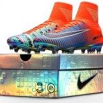 Nike lança chuteira especial em homenagem à evolução do Fifa Soccer