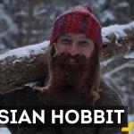 Conheça o russo hipster que largou a vida na cidade para viver como um Hobbit
