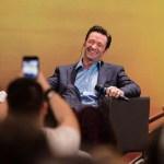 Hugh Jackman veio a São Paulo divulgar 'Logan', tomou um pingado e falou português