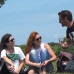 Desafio: xavecando garotas na rua com Gás Hélio