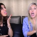 Pietra Príncipe e Aline Castelo Branco dão dicas de sexo oral em vídeo