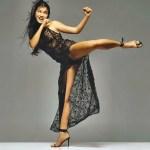 Mulheres treinando artes marciais