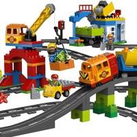 Lego Duplo Eisenbahn - mehr als 10 Bausätze, mit denen Du garantiert die größte Duplo Eisenbahn bauen kannst