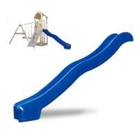 Serina Spielturm Rutsche 300 cm blau