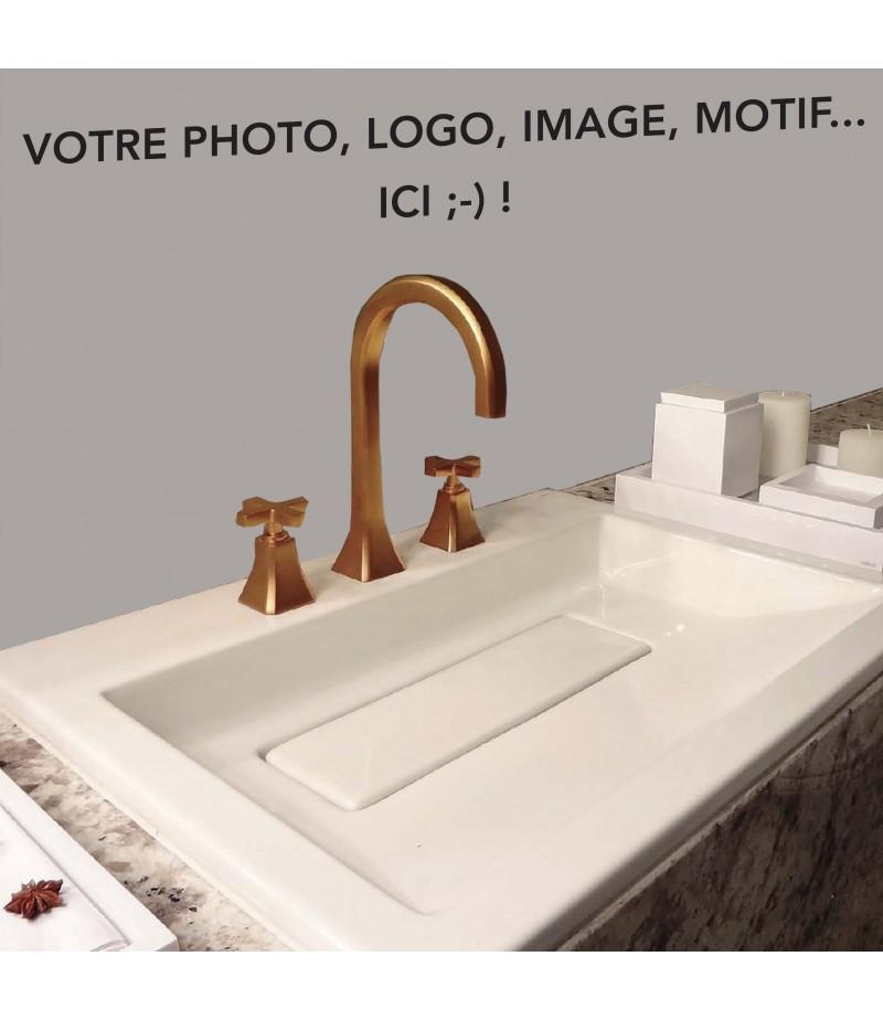 credence salle de bain sur mesure pvc personnalisable