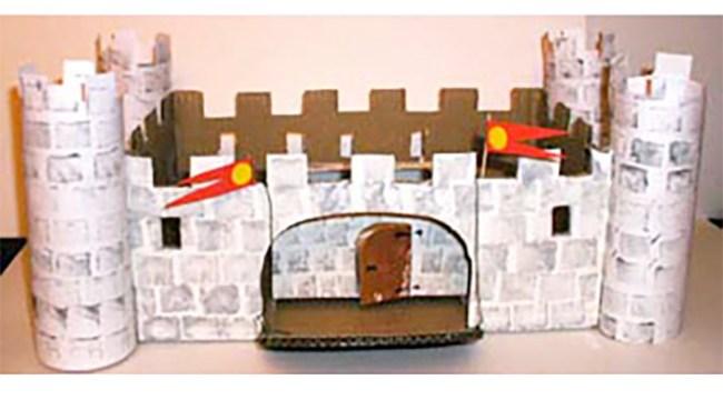 Fabriquer un château-fort
