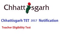 CGTET Notification 2017