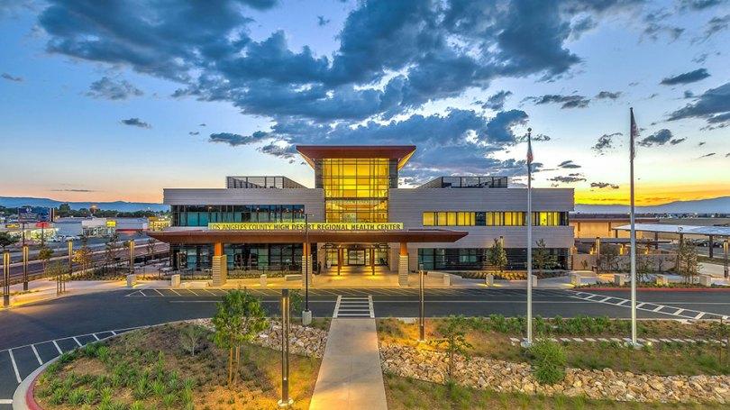 High Desert Health System Multi-Service Ambulatory Care Center in Lancaster, California.