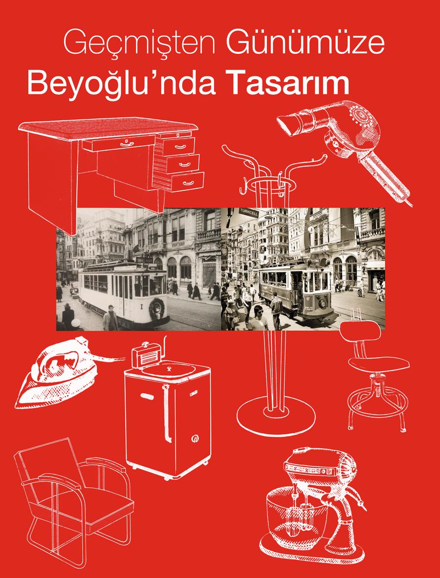 Geçmişten Günümüze Beyoğlu'nda Tasarım Sergisi