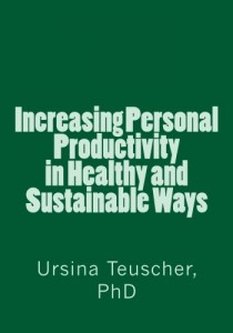Workbook Increasing Productivity in Healthy and Sustainable Ways