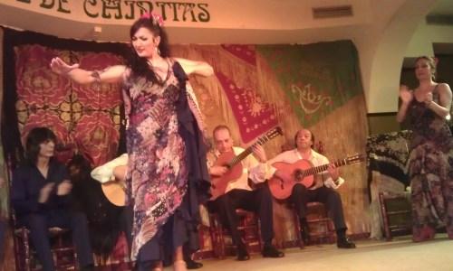 Cafe de Chinitas Soledad Gomez bailaora bailando 1