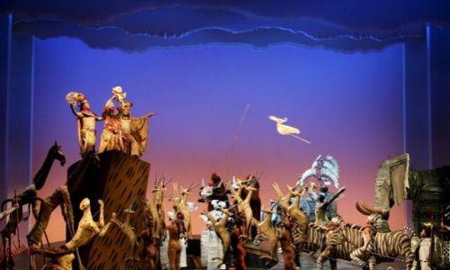 el Rey Leon puesta en escena general musical madrid