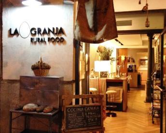 Restaurante La Granja Rural Food entrada