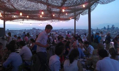 Tartan Roof zona restaurante Te Veo en Madrid