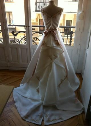 Traje de novia de Marcos Garaban Te Veo en Madrid