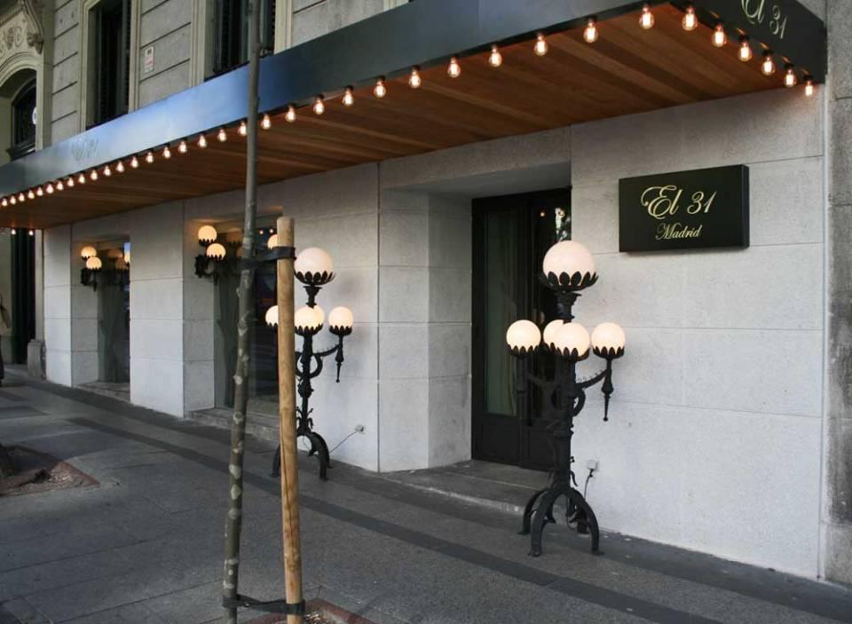 Restaurante el 31, fachada Te Veo en Madrid
