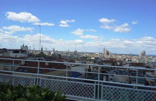 Huerto hotel Wellington vistas Te Veo en Madrid