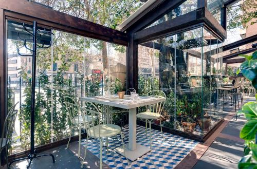Restaurante Pipa &co terraza Madrid