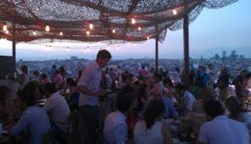 Tartan roof terraza Te Veo en madrid