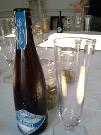 Casimiro Mahou. Cerveza Amaniel