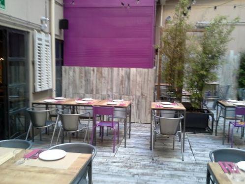 Restaurante Saporem  patio 1 Te Veo en Madrid